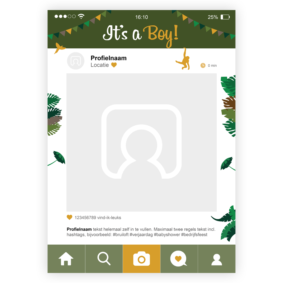 insta-frame-thema-babyshower-jungle-jongen